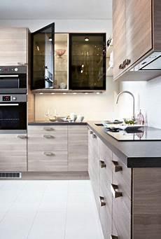 cuisine chene clair cuisine ikea noyer gris clair armoires cuisine modernes