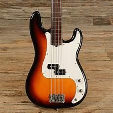 fender fretless precision bass fender precision bass fretless reverb