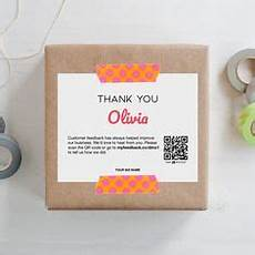 thank you packaging card template thank you for your purchase template instant