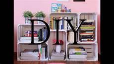fai da te cassette della frutta diy tutorial come creare una libreria fai da te con le