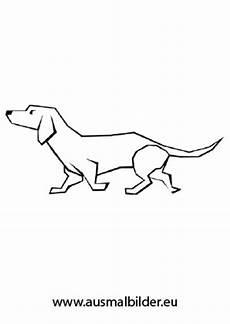 Hunde Ausmalbilder Dackel Ausmalbild Laufender Dackel Kostenlos Ausdrucken