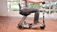 scooter electrique handicapé occasion scooter 233 l 233 ctrique pliable pour pmr luggie mobilit 233 et