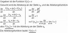 differentialquotient ableitung sekantensteigung mathe