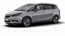 2017 Opel Zafira Tourer Facelift