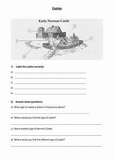 worksheets ks2 parts 18802 motte and bailey castle worksheet by floosiehuntley teaching resources tes