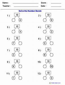 addition number bond worksheets 8792 number bonds worksheets number bonds worksheets singapore math math exercises