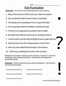 punctuation worksheets for grade 3 21000 how do you punctuate this sentence training4thefuture x fc2