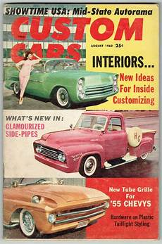 cing car magasine custom cars magazine august 1960 rod kustom interior