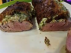 schweinefilet mit kruste schweinefilet mit k 228 se kr 228 uter kruste rezept mit bild