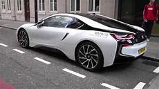 brand new bmw i8 on the streets of
