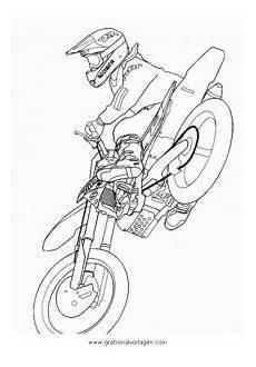 Malvorlagen Tiger Motor Motorcross 7 Gratis Malvorlage In Motorrad