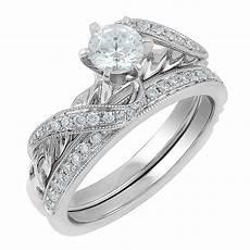 18ct white gold 0 75ct diamond bridal