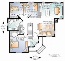 three bedroomed bungalow house plans beautiful 3 bedroom bungalow with open floor plan by