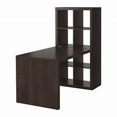 Ikea Kallax Expedit Desk And 8 Section Shelving Unit In