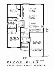 elevated bungalow house plans 2 bedroom raised bungalow house plan rb323 1000 sq feet