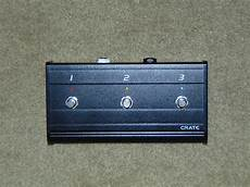 Crate Flexwave 120h 3 Button Footswitch Reverb