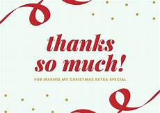 customize 30 christmas thank you card templates online canva