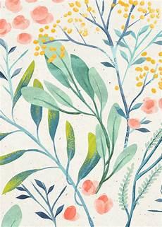 Flower Illustration Wallpaper by Flyleaf Florals Vol Ii On Behance