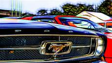 Mustang Logo Wallpaper 4k