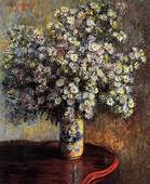 Asters 1880  Claude Monet WikiArtorg