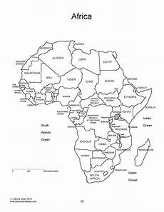Malvorlagen Map World Regional Maps Pdf Coloring Book Blank Outline Maps