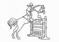 ausmalbilder pferde mit reiterin malvorlagentv