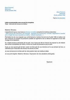 Lettre Type Demande De Travaux Au Bailleur Doc Pdf