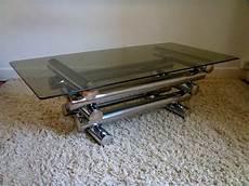 table basse en verre design italien table basse vintage chrome design italien des 233 es 70