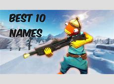 10 clean cool fortnite names (xbox/ps4)   YouTube