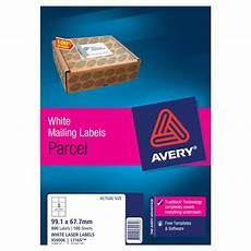 avery laser labels l7165 8 sheet cos complete office