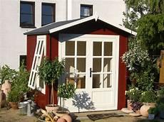 Kleines Gartenhaus Schwedenstil - ein h 252 bsches schwedenrotes gartenhaus das auch in kleine