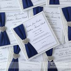 navy wedding invite the ariel collection luxury flat invitation featuring white pebble