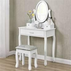 schminktisch mit spiegel und hocker artlife schminktisch lena wei 223 mit spiegel und hocker aus