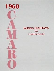 1968 chevy wiring diagram 68 1968 chevy camaro electrical wiring diagram manual ebay