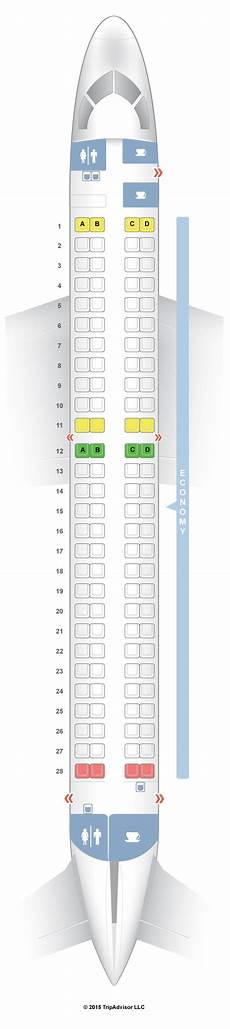 Lot Airlines Seating Chart Seatguru Seat Map Lot Polish Airlines Embraer Erj 195 E95