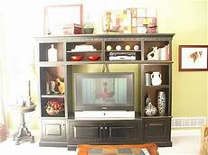 Decorating Ideas Top Of Entertainment Center by Studios Entertainment Unit Decorating Ideas