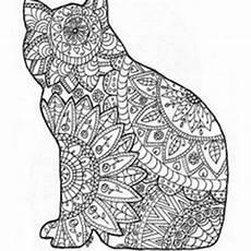 ausmalbild diese katze ist sehr interessant malvorlagen
