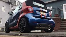 2017 smart 453 fortwo forfour brabus exhaust installation