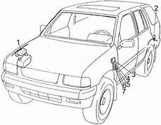 security system 1997 honda passport parking system honda passport 1993 1997 fuse box diagram auto genius