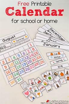 free printable interactive preschool calendar free homeschool deals