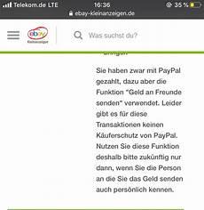 Bei Ebay Kleinanzeigen Geld Zur 252 Ck Trotz Per Freunde