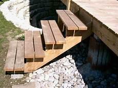 Garten Podest Selber Bauen - au 223 entreppe selber bauen holz haus bauen