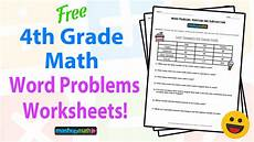 step word problem worksheets 4th grade 11472 4th grade math word problems free worksheets with answers mashup math