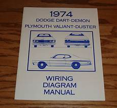 1974 Dodge Dart Plymouth Valiant Duster Wiring