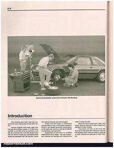 car repair manuals online pdf 1991 mercury capri engine control haynes ford mustang 1979 1993 mercury capri 1979 1986 auto repair manual