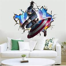 3d sticker 3d the avengers wall sticker decals boys room wall decals