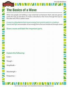physical science basics waves worksheet 13215 the basics of a wave view printable science worksheets sod