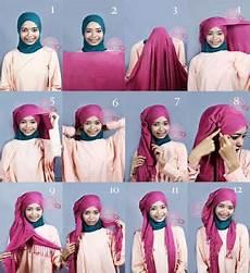 Tata Cara Memakai Jilbab Supaya Til Cantik Di Hari Lebaran