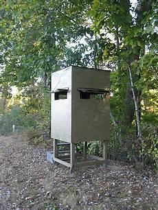 deer shooting house plans poor man s hunting box blind shooting house build plans