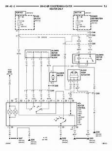 95 yj blower motor diagram help with a heater wiring problem jeep wrangler tj forum
